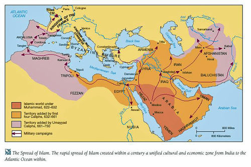 Key concept 31 expansion and intensification of communication and the islamic caliphates unlike some other belief systems islam has been pro trade from the beginning mohammed was a merchant and trade accounted in part gumiabroncs Images